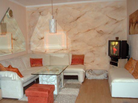 Airbrush for Wohnzimmer 3 meter breit